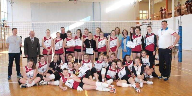 Finał Świętokrzyskich Igrzysk w piłce siatkowej dziewcząt