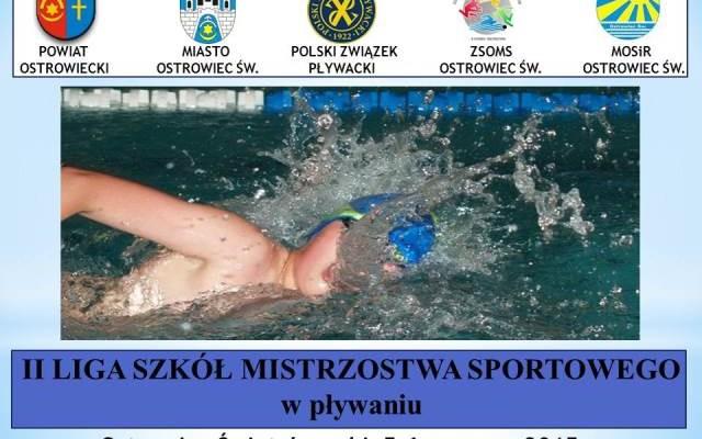 Liga SMS w pływaniu w Ostrowcu Św.