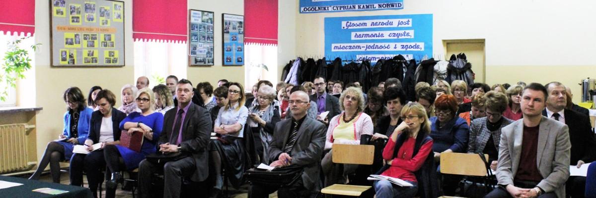 Konferencja dla dyrektorów podstawówek i gimnazjów