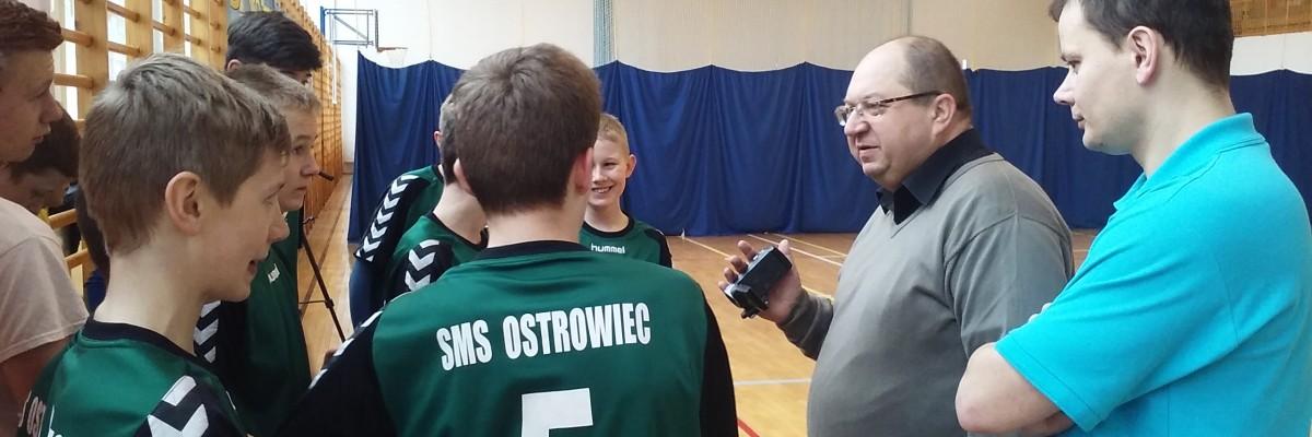 Wojewódzki koordynator OSPR odwiedził naszą szkołę