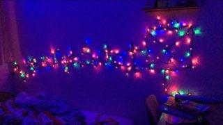 Najpiękniejsza bożonarodzeniowa dekoracja pokoju w internacie