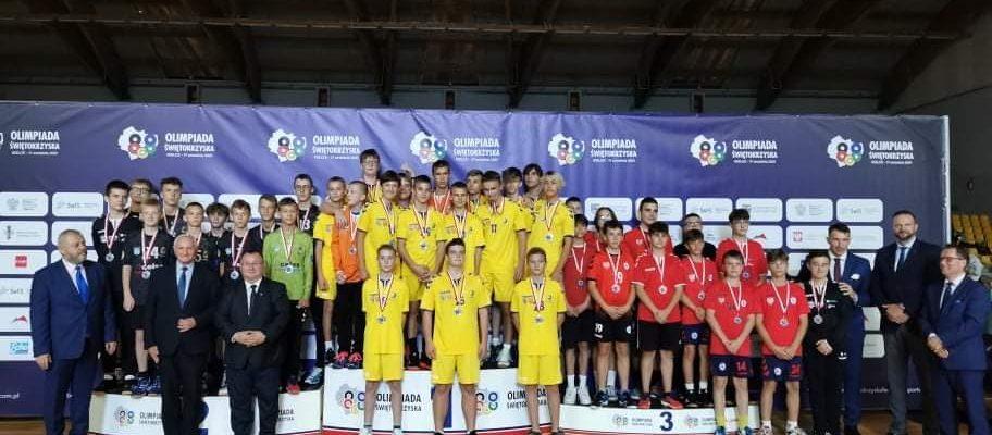 Drugie miejsce uczniów ZSOMS  w Olimpiadzie Świętokrzyskiej