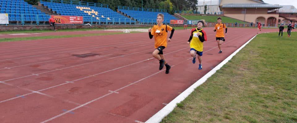 Wspaniały występ naszych piłkarzy w zawodach lekkoatletycznych